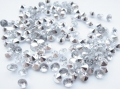 Rhinestones Pointed Back Clear 5mm x 100 SS20