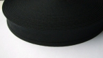 Cotton Bias Binding Black 12mm x 25m