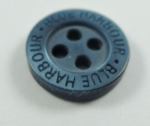 12mm BLUE HARBOUR Navy Blue Sewing Buttons 4 Hole