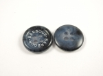 BARBOUR Coat Jacket Blue Sewing Button 4 Hole 15mm