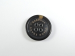 BARBOUR RANGE ROVER Coat Jacket Black Sewing Button 4 Hole 26mm