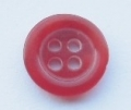 11mm Red Sewing Button 4 Hole