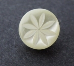 9mm Baby Ivory Pearl Shank Sewing Button