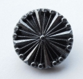 18mm Black Silver Shank Sewing Button