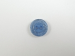 Royal Blue Glitter Edge Sewing Button 13mm