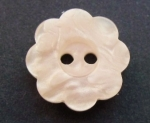15mm Daisy Pink Sewing Button