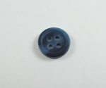 11mm Aran Navy Blue Cheap Sewing Button 4 Hole