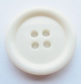 23mm Ivory Sewing Button 4 Hole