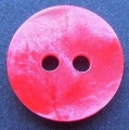 13mm Marble Red Sewing Button