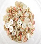 55 x 11mm White Sewing Buttons
