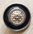 Metal Button Gold Navy Enamel Shank 22mm