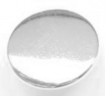 11mm Blazer Silver Sewing Button