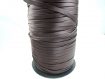 Satin Bias Binding Chocolate Brown 9mm x 25m