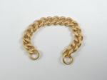 Metal Coat Chain 3.75 Inch Gold Coat Hanging Chain
