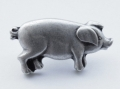 25mm Pig Novelty Metal Button
