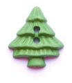 Novelty Button Christmas Tree 24mm