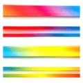 Satin Bias Binding Rainbow 20mm