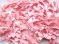 100 Satin Ribbon Bows 7mm Rose Pink
