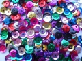 Cup Sequins 6mm Assorted Pack of 450