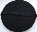 Cotton Tape Black 12mm x 50 Metres Roll