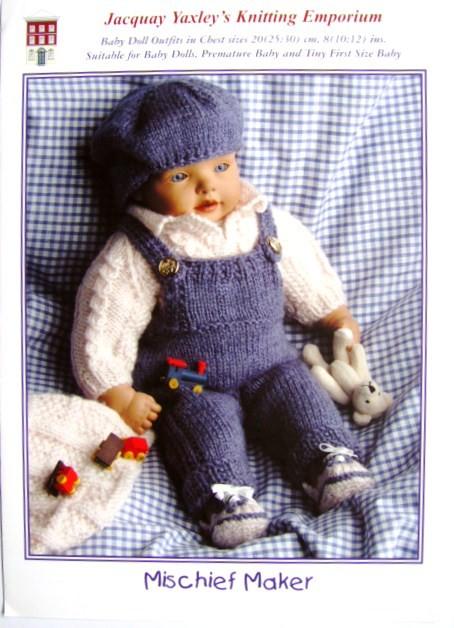 Knitting Pattern Jacquay Yaxley Mischief Maker